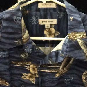 Vintage Pierre Cardin XLT Hawaiian Shirt